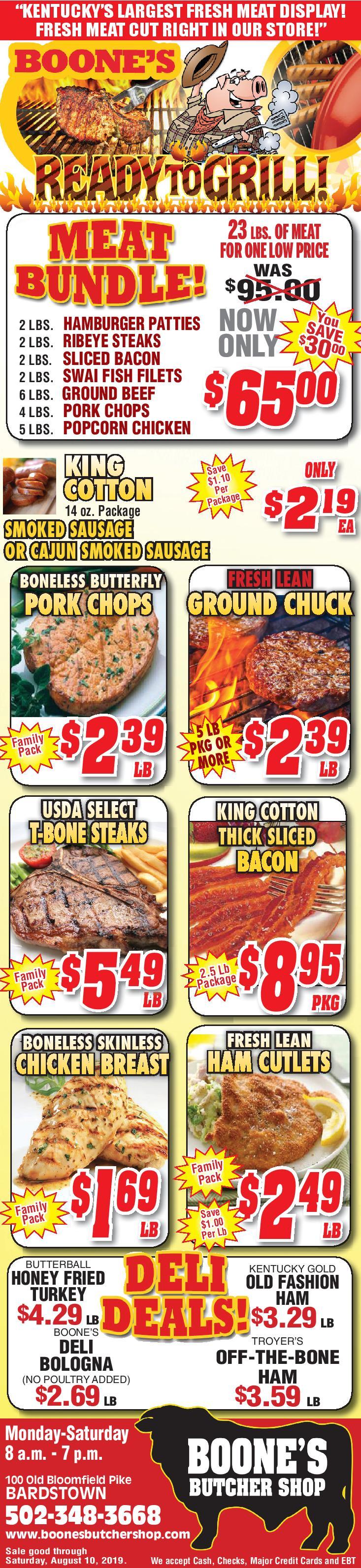 Boone's Butcher Shop | Bardstown Kentucky